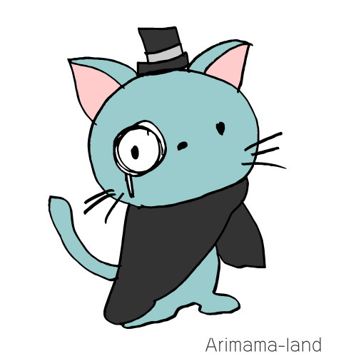 怪盗猫ちゃん描いてみました!!