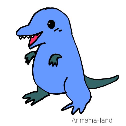 ティラノザウルス描いてみました