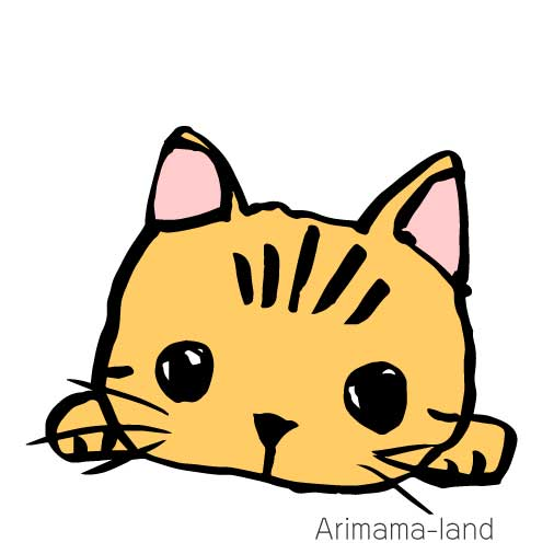 かわいい猫イラストの描き方